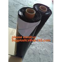 Buy cheap Custom biodegradable agriculture plastic mulch film,tubular roll with black colour for agricultural mulch film BAGEASE from wholesalers