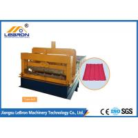 Buy cheap Steel Chrome Plated Glazed Tile Forming Machine High Production Long Time Service from wholesalers