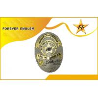 Buy cheap Hard Enamel Military Police Metal Badge / custom embroidered patches from wholesalers