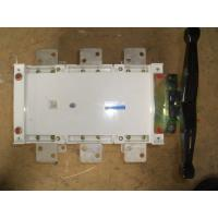 Buy cheap Manual double power transfer switches  1000A from wholesalers