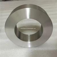 Buy cheap Zr zirconium metal tube Zirconium ring zirconium alloy pipe for Chemical processing,Oil and chemicals,medical industry from wholesalers