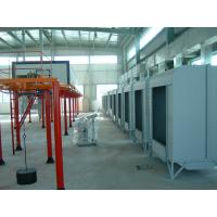 Buy cheap Electrical Powder Coating Spray Painting Booths With Powder Recycling Machine from wholesalers