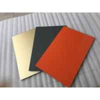 Buy cheap White Polyester Paint Aluminum Sandwich Panel Anti - Toxicity With 4mm Thickness product