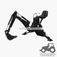 Buy cheap BH7600 - Backhoe loader for tractors 25-45hp from wholesalers