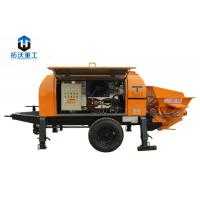 Advanced Hydraulic System Electric Concrete Pump With Highly Wear Resistant Parts