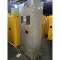 Buy cheap Metal Fireproof Storage Cabinet For Storing Gas Oxygen / Paint / IBC Drum from wholesalers