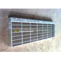 Buy cheap T1 / T2 Steel Stair Treads Grating Wear - Resistant Preventing Dirt Deposition product