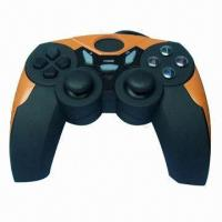 Buy cheap PC USB Vibration Joypad, Plug-and-Play, Optical Colors are Available from wholesalers
