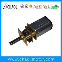 Buy cheap Low Speed High Torque Spur Gear Motor CL-FG12-FN20 For Auto Shutter And Smart Door Lock from wholesalers