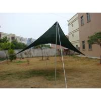 Polyester Triangle Sun Shade Outdoor Canopy Awnings For Swimming Pool Caravanfullawning