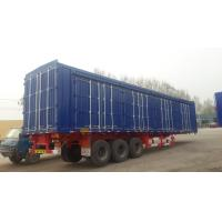 Buy cheap multi axle bulk cargo semi traile/strong box truck trailerr/store house bar semi trailer from wholesalers