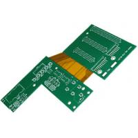 Buy cheap Immersion silver Rigid - flex AOI pcb / halogen free pcb from wholesalers
