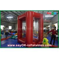 Buy cheap 2x2 m Cash Grab Machine Inflatable Money Booth With PVC Material from wholesalers