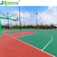 Buy cheap Eco - friendly Anti - slip Basketball Sport Court 3 - 8 mm Thickness from wholesalers