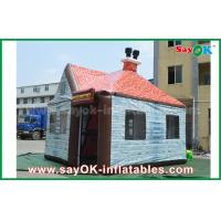 Buy cheap Customized 5 x 4m PVC Giant Inflatable House Bar Plub With Window / Chimney from wholesalers
