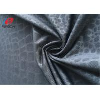 Buy cheap 90% Polyester 10% Lycra / Spandex Weft Knitted Fabric Printed Jersey Fabric from wholesalers