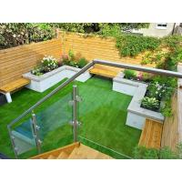 Buy cheap Balcony Design Glass Railing/ Glass Balustrade with Stainless Steel Post product