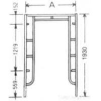 Buy cheap Scaffold Frame from wholesalers