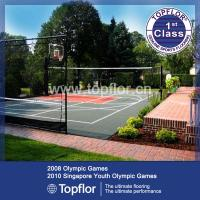China Portable Outdoor Interlocking Flooring for tennis court on sale