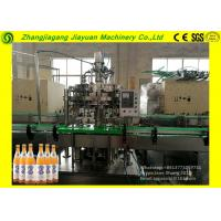 Buy cheap Large Glass Bottle Filling Machine / Split Carbonated Production Line 1.1kw from wholesalers