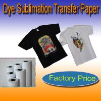 Buy cheap dark color t-shirt transfer paper 300gsm from wholesalers