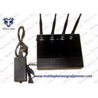 Quality 35dBm / 800mW Cell Phone Signal Scrambler , Mobile Phone Jamming Device Dust Resistant for sale