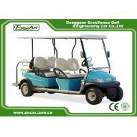 Buy cheap Trojan Battery Electric Golf Car , Six Passenger Street Legal Electric Golf Carts from wholesalers
