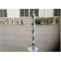 Buy cheap Adjustable Heavy Duty Ground Anchors Steel 8mm Flange For Solar Mounting System from wholesalers
