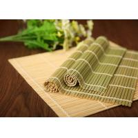 Buy cheap Hand Made Craft Natural Bamboo Roll Up Mat For Japanese Sushi Making from wholesalers