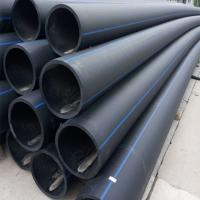 Buy cheap PE100 HDPE pipe polyethylene pipe PN10 PN 16 black HDPE water pipe from wholesalers