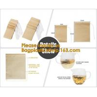 Buy cheap Tea Stand Up Ziplock Bags Biodegradable Environmentally Friendly from wholesalers