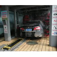 Buy cheap Automatic belt conveyor car washing systems/ Automated tunnel car washer with nine brushes from wholesalers