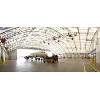 Buy cheap Prefabricated Steel Pipe Truss Airplane Hangar Buildings Supply Big Room For Plane Parking from wholesalers