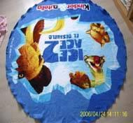 Buy cheap Round Beach Towel from wholesalers