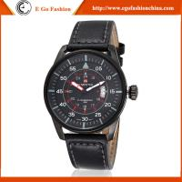 Buy cheap Fashion Casual Watch Stainless Steel Casual Watches Man Genuine Leather Band Watch Quartz from wholesalers