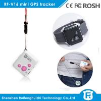 Buy cheap Sos bracelet gps tracker/usb micro gps tracker reachfar V16 for kids elderly from wholesalers