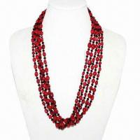 Buy cheap Hot-selling and fashionable new model natural red coral necklaces from wholesalers