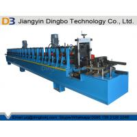 Buy cheap Photovoltaic Solar Bracket Strut Channel Roll Forming Machine with Punching from wholesalers