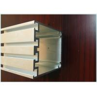 Buy cheap Silver White Aluminium Extrusion Channel Profiles , Aluminium Track Profiles 6m Length from wholesalers