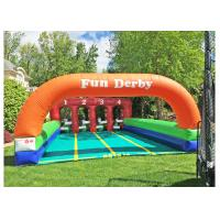 Buy cheap Unicorn Theme Inflatable Games For Kids , Funny Sports Matching Game For Outdoor Activity from wholesalers