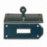 Buy cheap Bag Buckles with Metal Locks, Made of Zinc Alloy, Various Designs are Available from wholesalers