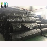 Buy cheap Black material Woven Geotextile Separation & Reinforcing Textile for road underlayment from wholesalers