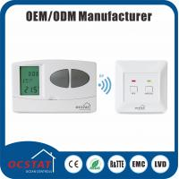 Buy cheap RF Electronic Programmable Thermostat For Heating  system 868MHZ radio frequency wireless room thermostat HVAC from wholesalers
