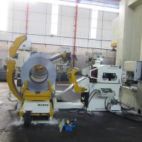 Buy cheap NC Servo High Speed Feeder Automation Equipment Stainless Steel Tube Stamping from wholesalers