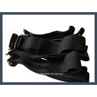 Buy cheap hot selling buckle hook and loop cable tie,black from wholesalers