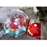 Buy cheap Beautiful Aluminium Frame Half Sphere Tent Construction Tent for Festival from wholesalers