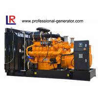 Buy cheap Water Cooled 800 - 1600kw Biomass / Natural Gas Generators with Multi - Cylinder Electric Start from wholesalers