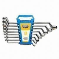Buy cheap 8 Pieces Double Offset Ring Wrench Set in Nice Design from wholesalers