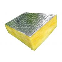Buy cheap Aluminum Foil Faced Glass Wool Blanket Non Toxic Construction Acoustic from wholesalers