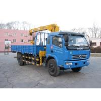 Buy cheap CLWDongfeng DLK row of semi truck mounted crane (SMJ5125JSQDC3 stone coal lorry from wholesalers